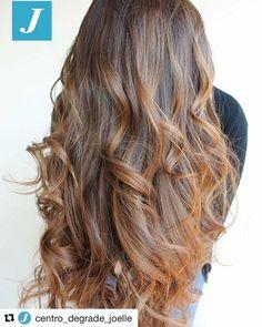 #Repost @centro_degrade_joelle with @repostapp ・・・ Degradé Joelle: perfetto da ogni prospettiva! #cdj #degradejoelle #tagliopuntearia #degradé #igers #musthave #hair #hairstyle #haircolour #longhair #ootd #hairfashion #madeinitaly #wellastudionyc