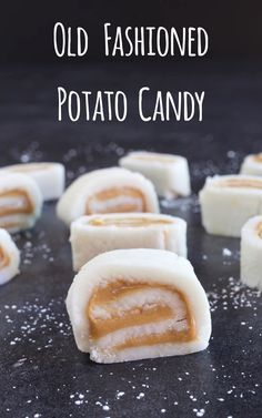 Old Fashioned Potato Candy - My Country Table - Seed To Pantry School - Old Fashioned Potato Candy - My Country Table This Old Fashioned Potato Candy is made with a mashed potato which gives it the most wonderful flavor. Fudge Recipes, Candy Recipes, Holiday Recipes, Cookie Recipes, Dessert Recipes, Thanksgiving Recipes, Christmas Desserts, Christmas Baking, Retro Christmas