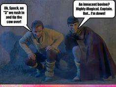 If Star Trek were filmed in Vermont.... <3