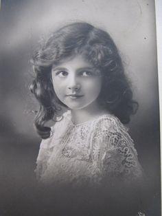 Antique French postcard, early 1900's Edwardian photocards, children models, vintage European postcards, paper ephemera, for collectors, art