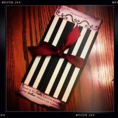 Vintage Wedding Invitations Vintage Plyabill by TWPWeddings