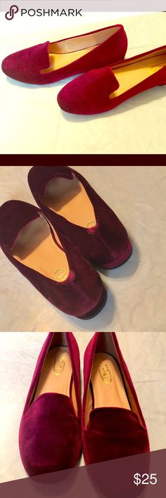Gorgeous Smoking Slippers🍁🍂🍁 Never Worn.I can supply a box,if neededNo flaws beautiful,beautiful  olir🍁🍂🍁 Yoki Shoes Flats & Loafers