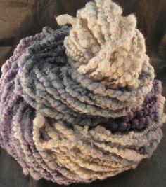 Strickgarn - Handgesponnene Wolle - ein Designerstück von superflausch bei DaWanda
