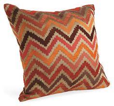 Chevron Spice Pillow - Pillows - Accessories - Room & Board