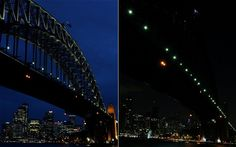 Iconic landmarks and skylines were plunged into darkness on Saturday as the Earth Hour switch-off of lights around the world got under way to raise awareness of climate change.