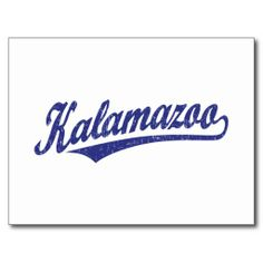 ==>Discount          	Kalamazoo script logo in blue distressed post cards           	Kalamazoo script logo in blue distressed post cards in each seller & make purchase online for cheap. Choose the best price and best promotion as you thing Secure Checkout you can trust Buy bestDiscount Deals   ...Cleck Hot Deals >>> http://www.zazzle.com/kalamazoo_script_logo_in_blue_distressed_postcard-239535723256113631?rf=238627982471231924&zbar=1&tc=terrest