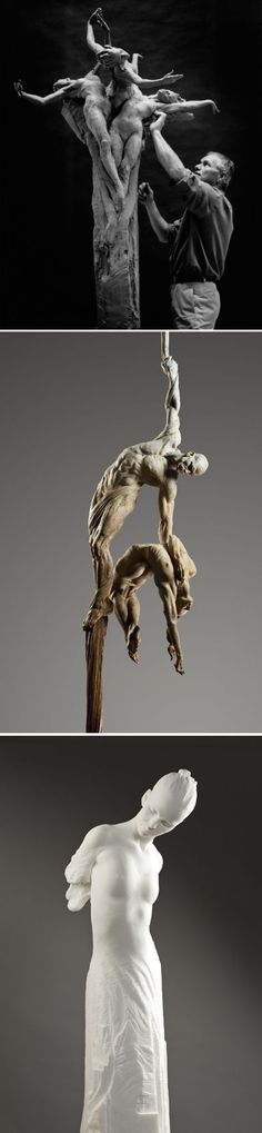 Easy Clay Sculptures : Richard MacDonald one of the most amazing sculptors of our time! Modern Sculpture, Wood Sculpture, Bd Art, Street Art, Sculptures Céramiques, Ceramic Sculptures, Art Plastique, Figurative Art, Art And Architecture