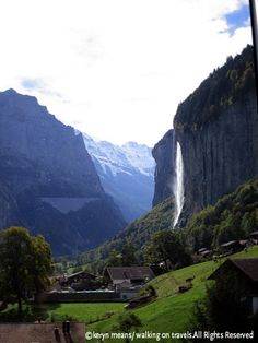 Travel with Kids - includes traveling to the Swiss Alps