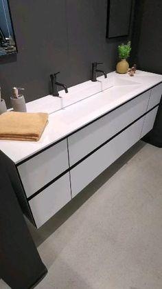 Bathroom Interior, Modern Bathroom, Master Bathroom, Exterior Design, Interior And Exterior, Washroom Design, Bathroom Sink Cabinets, Terraced House, Bathroom Inspiration