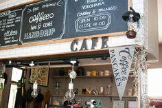 帆布を使ってカフェ風ペナントをDIY☆