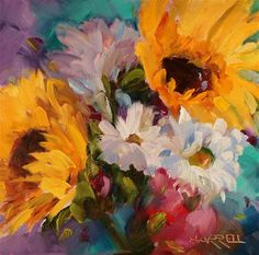 "Daily+Paintworks+-+""Breezy""+-+Original+Fine+Art+for+Sale+-+©+Sue+Harrell"