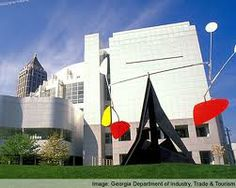 The High Museum of Art in Atlanta, Georgia is a National Smithsonian Institute affiliate.  www.high.org