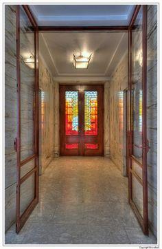 Beaux Arts Interior Design Plans frison house. detail of the vestibule on the beletage | e. victor