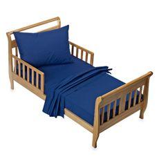 TL Care® Toddler Sheet Set - Royal Blue - Bed Bath & Beyond