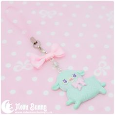 Moon Bunny | Sweet alpaca Charm #3 | Online Store Powered by Storenvy