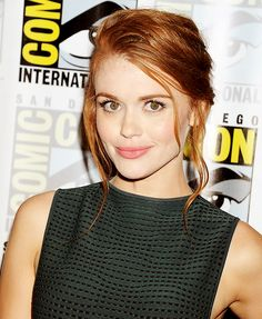Holland Roden @ Comic-Con in San Diego, July 25.