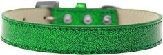 Mirage Pet Products 509-5 EG-12 Tulsa Plain Ice Cream Dog Collar, Emerald Green, Medium * Check this awesome product by going to the link at the image. (This is an Amazon affiliate link)