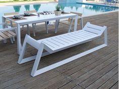 Aluminium garden bench EMILY | Aluminium garden bench - Efasma