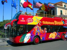Our tours | City Sightseeing Sorrento and Amalfi Coast - Sorrento Tour in bus - Hop on • Hop off