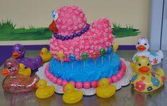 Rubber Duck Cake Rubber Duck Cake, Rubber Ducky Birthday, Tiffany Cakes, Ducks, Birthday Cake, Desserts, Food, Tailgate Desserts, Deserts
