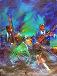 """Luis Fernando Zoquier: """"Momentos de Jazz"""" (2004) - Subasta Real"""