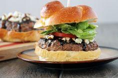 Blue Cheese & Balsamic Burger