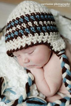 RAKJpatterns; Creative Crochet Patterns | Free Crochet Pattern: Seth Hat