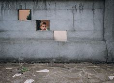 photographs of his small town in Romania - by Haljdu Tamas