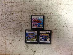 Sonic Rush, Sonic Colors, Sonic Sega All-Stars Racing  lot of 3 Nintendo DS
