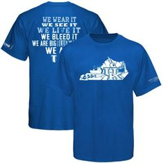 Kentucky Wildcats 2012-2013 Traditions T-Shirt - Royal Blue (for B)