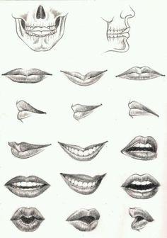 Lips. Mouth.
