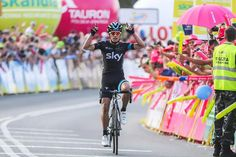 Sergio Henao (SKY) wins stage 6 - Tour de Pologne to move into overall lead with Ulissi 2nd and De Clerq 3rd.