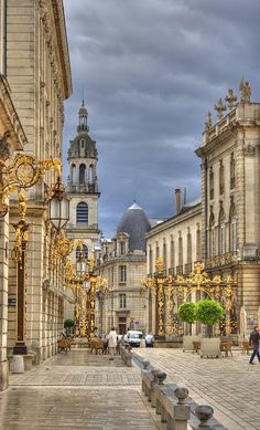 Beautiful Places Throughout Europe — Stanislas Square, Nancy, France Places Around The World, Oh The Places You'll Go, Travel Around The World, Places To Travel, Places To Visit, Around The Worlds, France 3, Ville France, Nancy France
