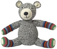 Great child gift idea, Teddy Hand-Crocheted Organic Cotton Bear#ad