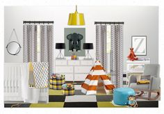 Nursery for Zachary by lisamendedesign | Olioboard only one more day to vote!