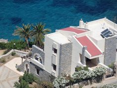 A beautiful Sea Front Villa on Kalymnos Best Car Rental Deals, Real Estate Agency, Travel And Tourism, Greek Islands, Renting A House, Terrace, Villa, Sea, Vacation