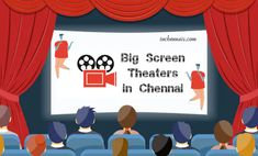 To enjoy your favorite movie acted by your favorite stars with your family, block the seats in any of these above big screen theaters in chennai.