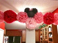 Minnie Mouse Tissue Lanterns