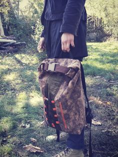 Casual clothing and funky bags. Into The Woods, Bradley Mountain, Casual Outfits, Backpacks, Stuff To Buy, Bags, Clothes, Design, Fashion