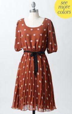 Spotty Dotty Dress. Pretty! $40