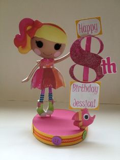 Lalaloopsy April Sunsplash custom birthday party centerpiece
