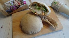 Pita 2db Camembert Cheese, Paleo, Bread, Vegan, Food, Brot, Essen, Beach Wrap, Baking