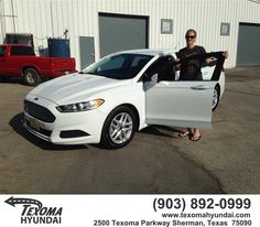 https://flic.kr/p/LwGSCw | Happy Anniversary to Victoria on your #Ford #Fusion…