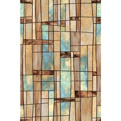 Artscape 24 in. x 36 in. City Lights Decorative Window at The Home Depot - window film for dogs who bark out the window Stained Glass Window Film, Stained Glass Door, Bathroom Windows, Glass Bathroom, Bathroom Ideas, Home Depot, Film Home, Window Films, Glass Wall Art