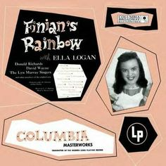 Finian's Rainbow Finian's Rainbow, How Are Things, The Orator, American Actors, Soundtrack, Album Covers, Musicals, Broadway, Singing