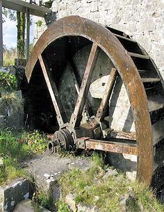 Lovely old water wheel