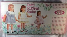 1961 Ideal Patti Playpal Doll Board Game Vintage Rare (03/23/2014)