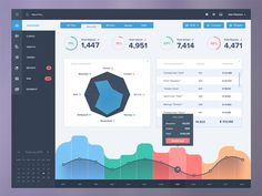 Data management platform for the rent company.   Since i didn't want seasonal colours to be mixed up with ones for popular sport kinds, octagonal chart seemed to appear as a right decision.  And ye...