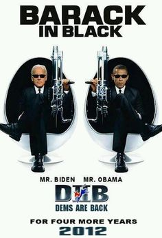 President Barak Obama & Vice President Joe Biden; I love these two guys....
