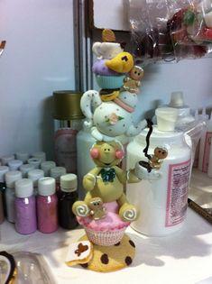 Christmas Clay, Xmas, Clay Bear, Polymer Clay Halloween, Clay Figurine, Pasta Flexible, Gingerbread Man, Fondant, Sculpting